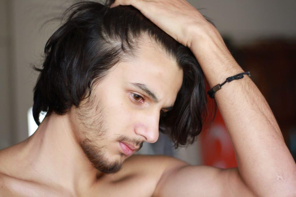 cabelo homem sem caspa